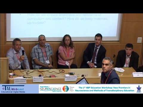 Panel: Neuroscience education, the future: Online tools and public involvement