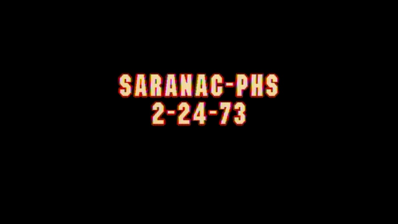 Saranac - Plattsburgh Boys Radio  2-24-73