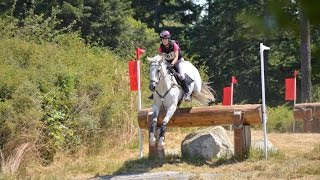 Snap Decision(Fuzzy) and Jeanine Allred helmet cam Intermediate H.T. Whidbey Island Horse Trials