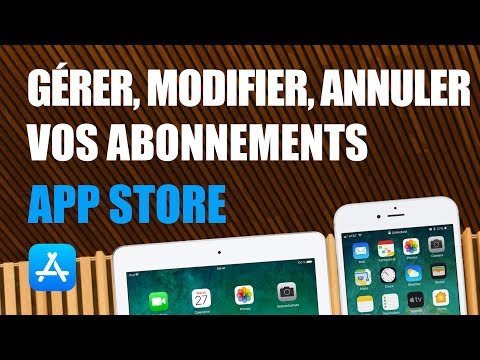 Manage, modify or delete a subscription taken on iPhone or iPad: Games, App Store, Apple Music ...
