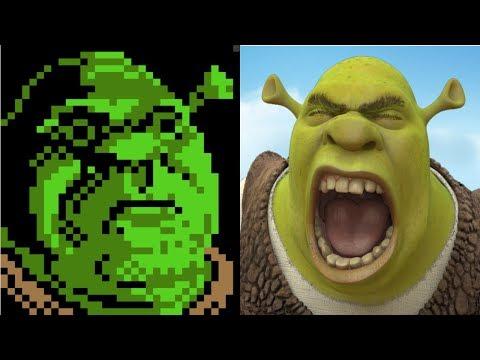 Evolution Of Shrek Games
