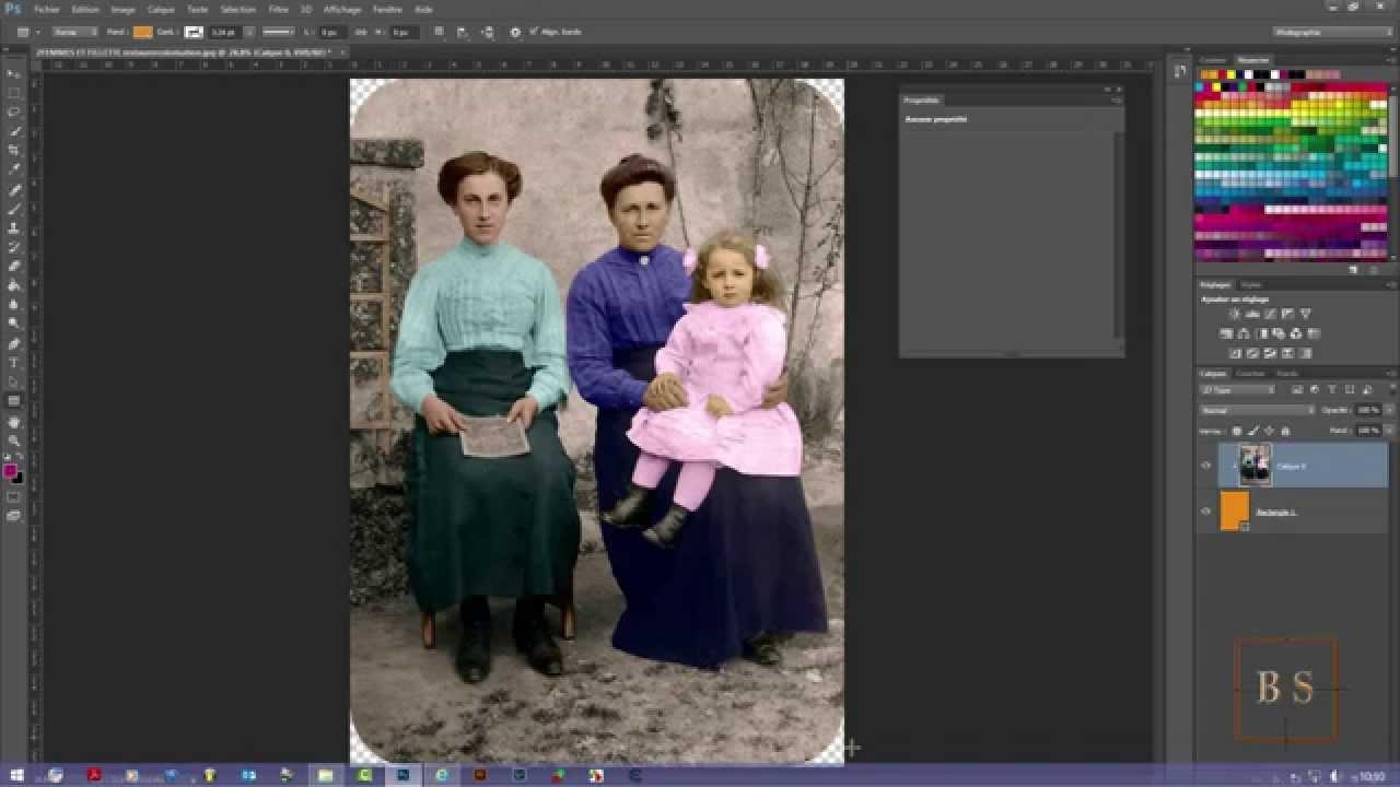 Photoshop cc arrondir les angles d 39 une photo youtube - Arrondir les angles ...