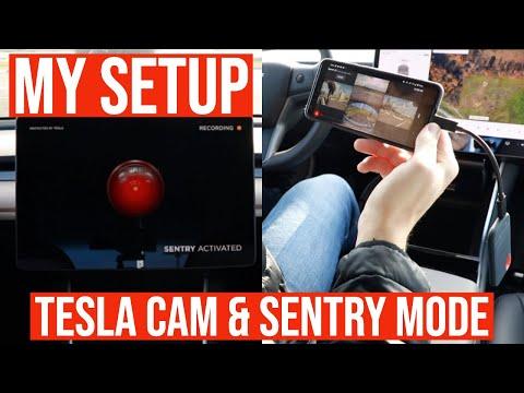 Tesla Dashcam & Sentry Mode Setup