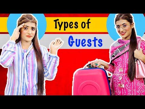 Types Of Guests | Desi Guests | SAMREEN ALI