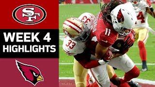 49ers vs. Cardinals | NFL Week 4 Game Highlights