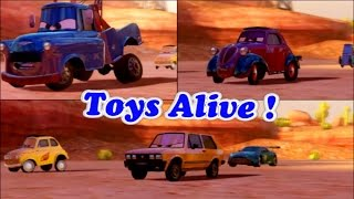 Cars 2 Game Play - 3 Players Battle Race 6