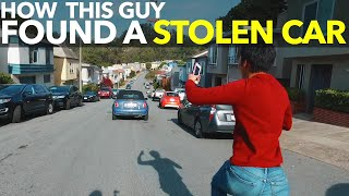 How This Guy Found a Stolen Car!