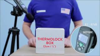 Thermolock® Sound Proofing & Insulation Test  Check It Out   1