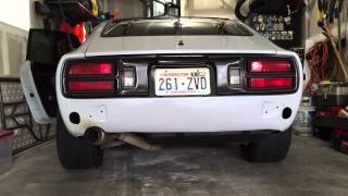 homepage tile video photo for Datsun 260z Cold Start and Idle