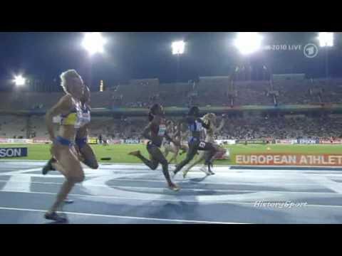 Verena Sailer - Gold 100m Sprint (EM 2010)