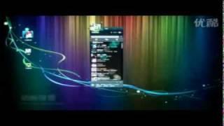 Chinois instant messenger--QQ multi-touch 概念版触摸演示
