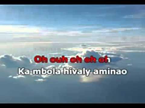 Hivaly Aminao   Odyai Version Karaoke