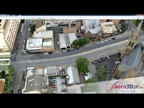 HR 3D models of North Adelaide in Google Earth - aero3Dpro