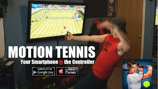 Motion Tennis: Chromecast Wii Type Games for TV