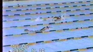 田北誠 1995年 福島国体 少年男子400m自由形優勝