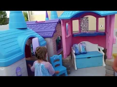 Thumbnail: Frozen Castle Playhouse created by Pam Fluckiger