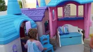 Frozen Castle Playhouse created by Pam Fluckiger