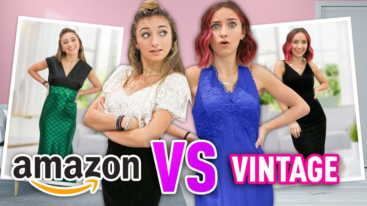 Download Amazon VS My Mom's Prom Dresses | Under $20 #WithMe