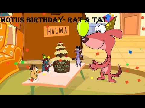 Rat-A-Tat   Chotoonz Kids Cartoon Videos   'MOTU'S BIRTHDAY'