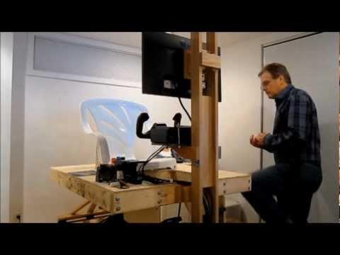 3DOF Motion Platform for Home Flight Simulation