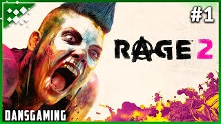 Let's Play RAGE 2 - PC Hard Mode - Part 1