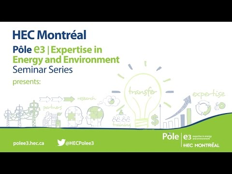 HEC Pôle e3 | Environment regulation investment hiatus in the UK electricity industry | Liz Warren