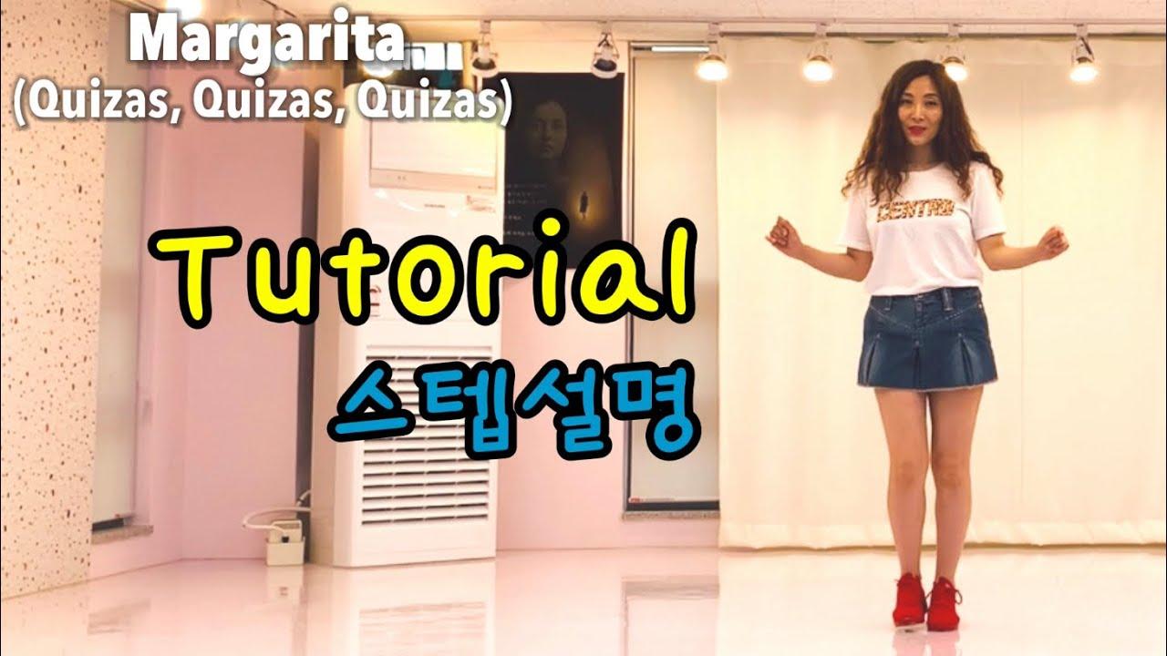 Margarita(Quizas, Quizas,Quizas)line dance(쉬운초급)마가리타,키사스🌷TUTORIAL (설명영상)💎