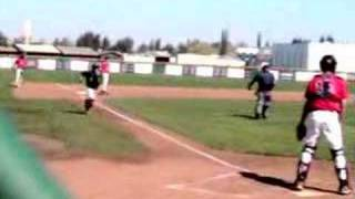Colby Brenner Hits An Inside the Park Home Run