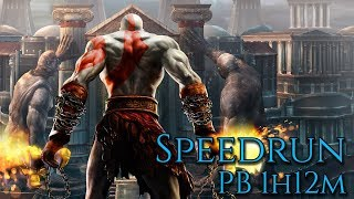 GOD OF WAR 2 SPEEDRUN COM BUG WR EMU 1:12:31 + GOD OF WAR 3 COM BUG