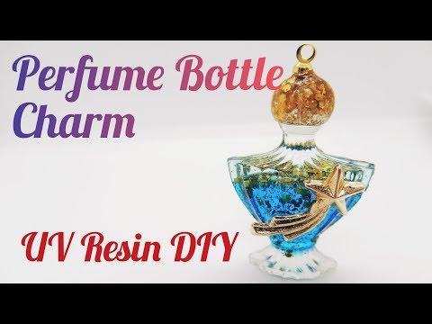 UV Resin DIY Perfume Bottle Charm