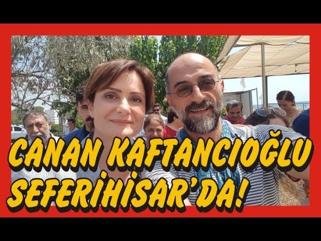 Canan Kaftancıoğlu Seferihisar'da CHP Gençlik Kolları'nın yaz kampındaydı!