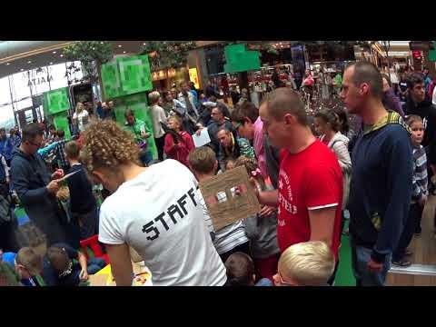 Podróż do świata Minecraft , Galeria MALTA Poznan 09.2017 🎁  Full HD