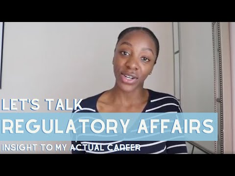 What Is Regulatory Affairs? Lets Talk About My ACTUAL Career!