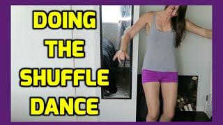 Doing The Shuffle Dance