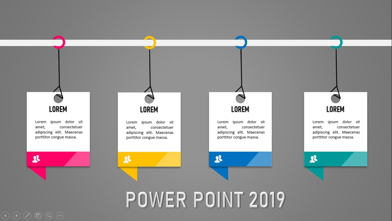 power point 2019 diseño creativo efecto desplazamiento+diseño creativo en power point 2020✅