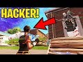 UNDER THE MAP HACKER!!! (Fortnite Battle Royale)