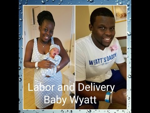 LABOR & DELIVERY VLOG|WYATT'S HERE!!!