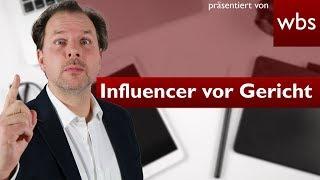 Vreni Frost & Cathy Hummels - Influencer vor Gericht | Rechtsanwalt Christian Solmecke