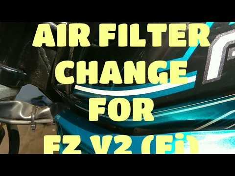 AIR FILTER CHANGE FOR FZ V2 (Fi)