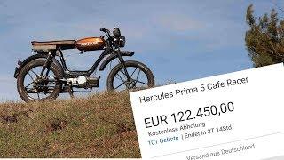 Wieso ist dieses Mofa 120.000€ Wert?? | Mofa-Mittwoch Nr.06
