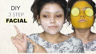 How to Do Facial at Home | Step by Step | Get Fairer & Glowing Skin