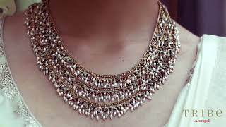 Parijat Gold-Plated Traditional Jewelry