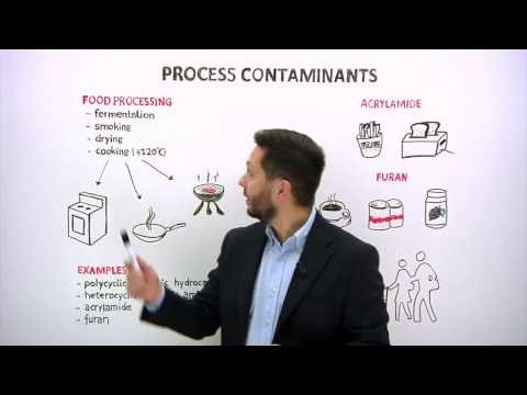 Food processing contaminants