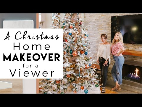 A Surprise Christmas Makeover   Decorating a Viewers Home for Christmas