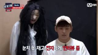 Hit The Stage 힛 더 스테이지 E01 160727 INFINITE - Hoya ghost test