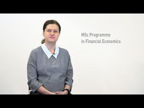 MSc Programme in Financial Economics