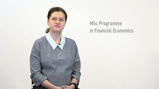 MSc Programme in Financial Economics