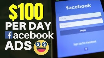 How To Make Money With Facebook Ads ($100 Per Day)