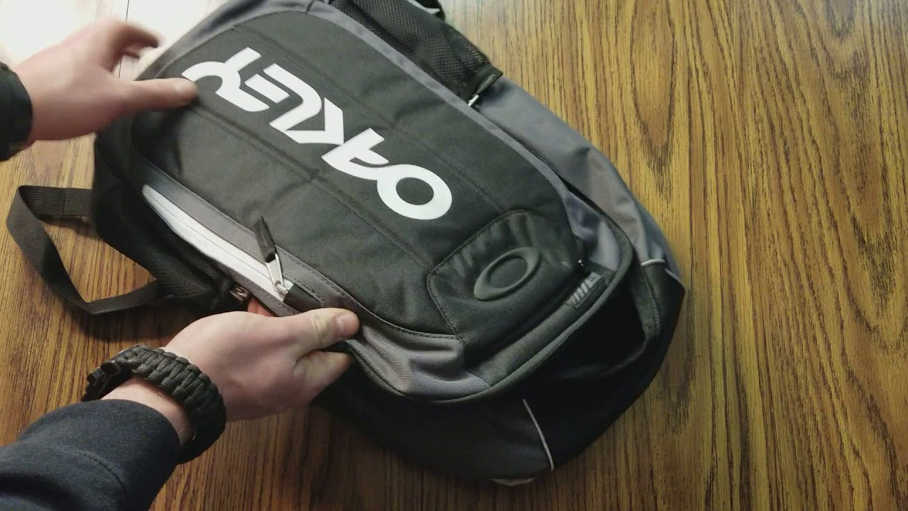 d6d5f112a OAKLEY ENDURO 20L (BALLISTIC BACKPACK) - YouTube