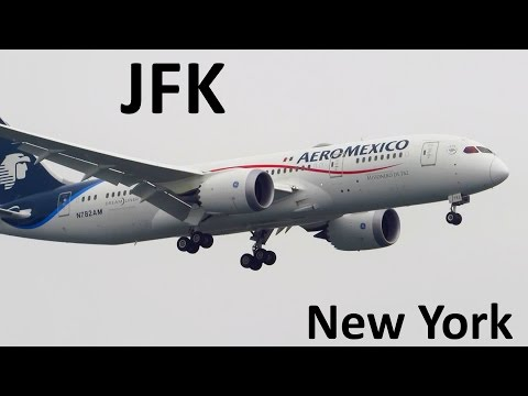 BUSY DAY! Planespotting at New York JFK...